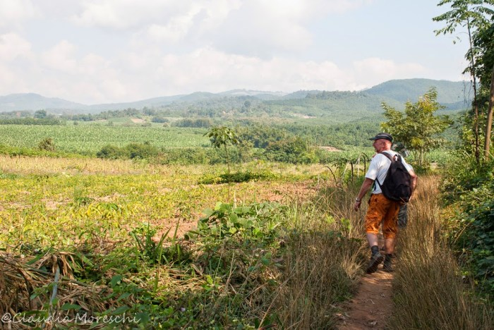Trekking a Muang Sing, Laos