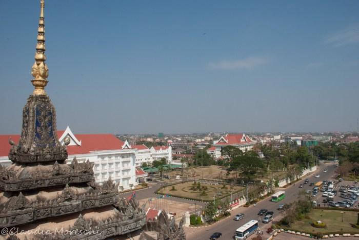 Vientiane dal Patuxai