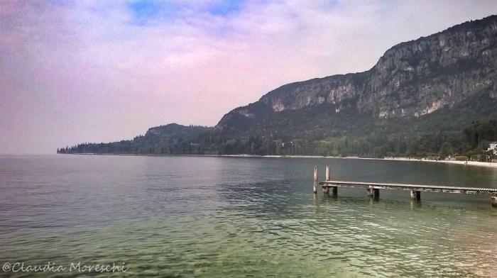 Vista sul lago a Garda