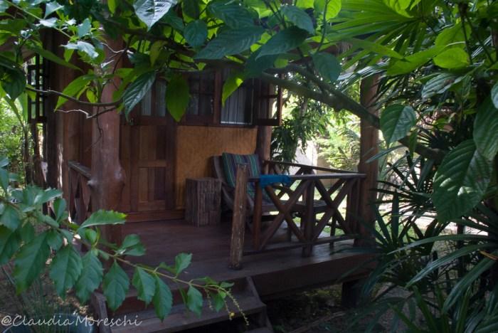 Il mio bungalow al Chiang Dao Hut