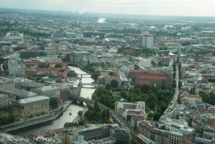 Berlino vista dai 368 m della Torre della Televisione