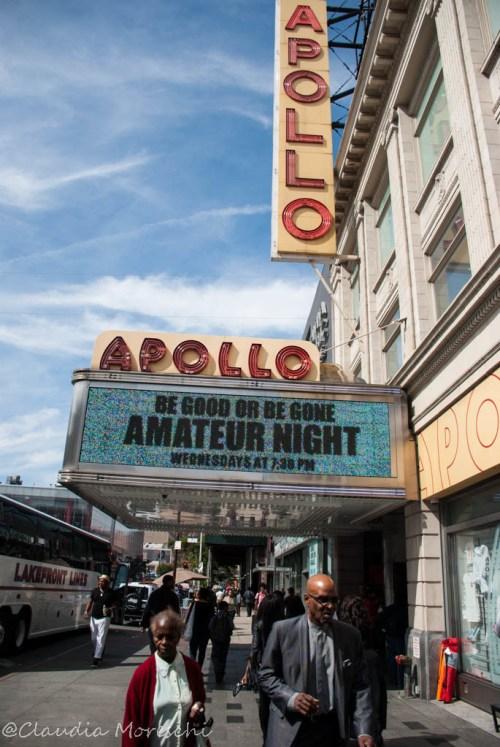 L'ingresso dell'Apollo Theater