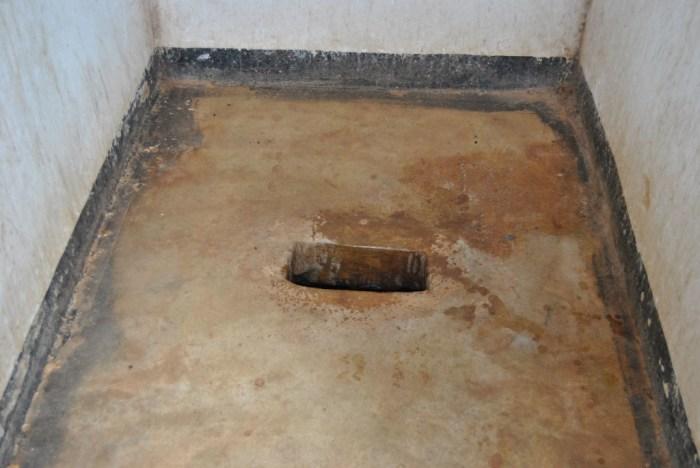 Bagni dal mondo - Toilette africana