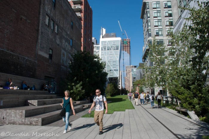 Passeggiata sulla High Line