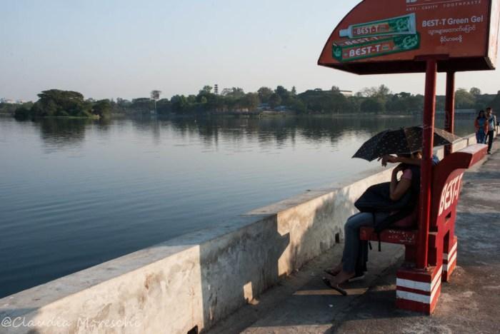 Il Lago Inya, a Yangon