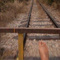 Il treno di bambù di Battambang