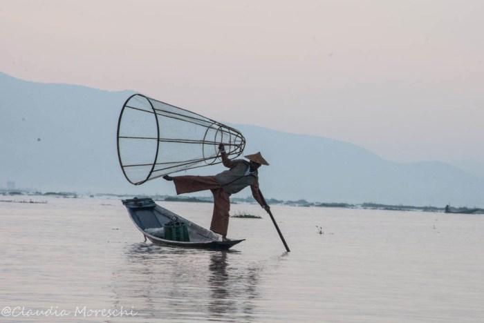 Pescatore intha sul Lago Inle