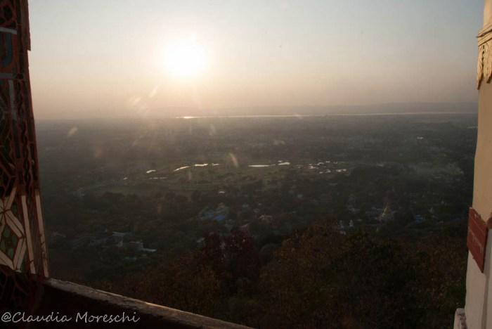 La vista dalla Mandalay Hill