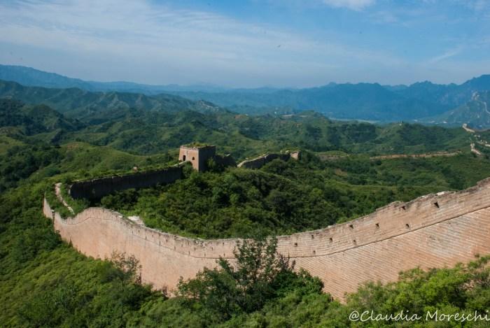 La Grande Muraglia Cinese a Guibekou
