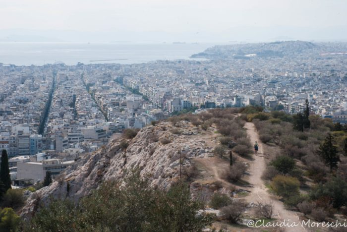 La vista dalla Collina di Filopappo