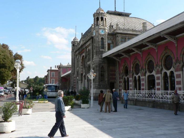 La stazione Sirkeci di Istanbul