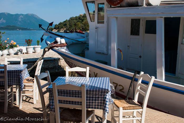 Al porto di Meganisi