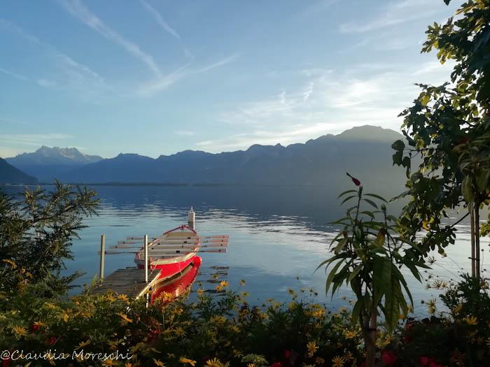 Il lungolago di Montreux