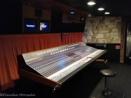Sala di controllo - Queen The Studio Experience