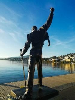 Statua a Freddie Mercury - Montreux