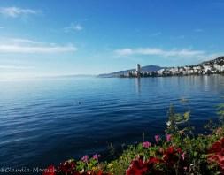 Vista su Montreux