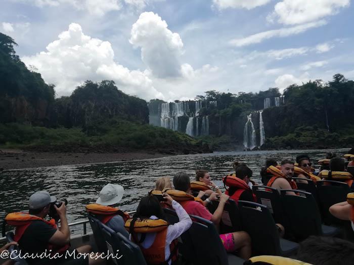 Escursione in barca Iguazù