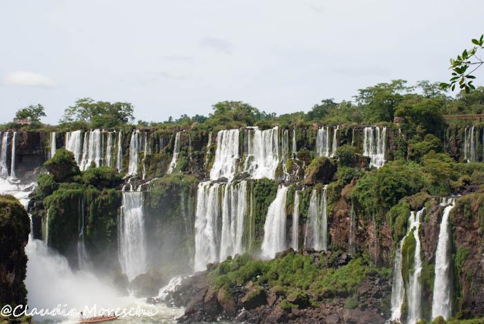 Vista sulla Cascate Iguazù dal lato argentino