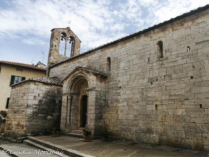 Tour della Val d'Orcia: la Chiesa di Santa Maria Assunta a San Quirico