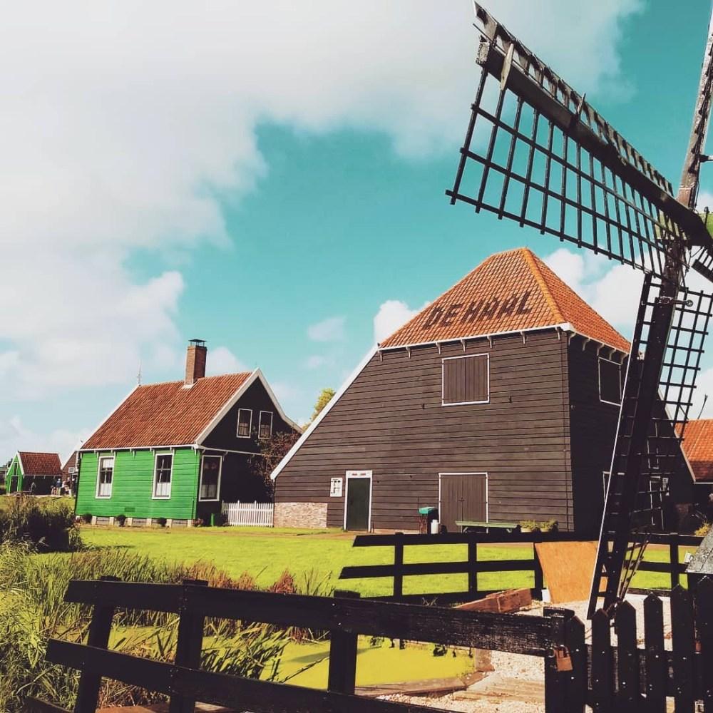 best day trips from Amsterdam | Zaanse Schans
