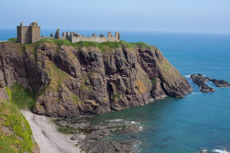 Castles in Scotland | Dunnottar Castle