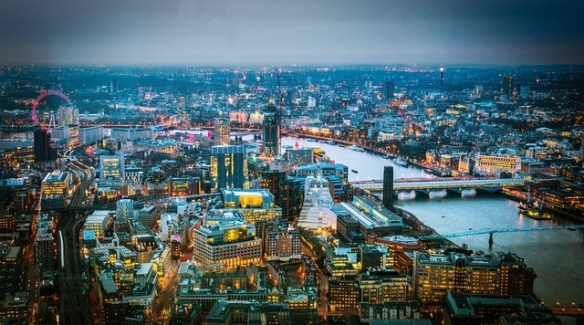 4 day london itinerary-View from the Shard