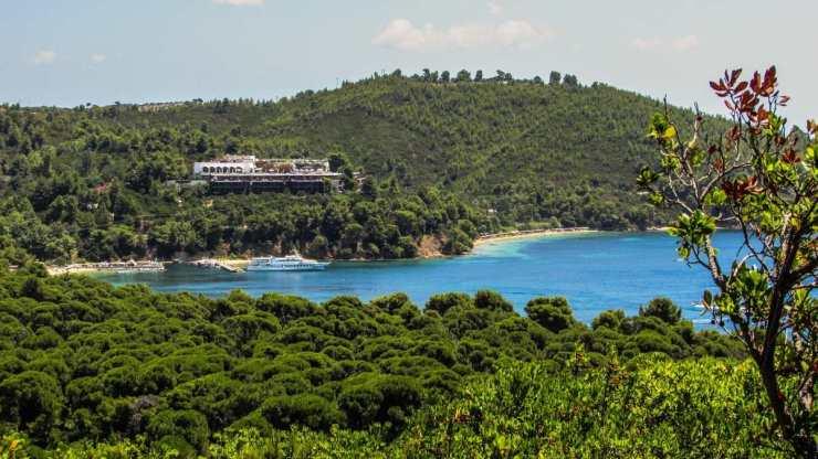 Παραλία Κουκουναριές, Σκιάθος