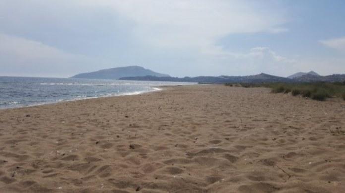 Αμμουδιά παραλίας Χρηστέα