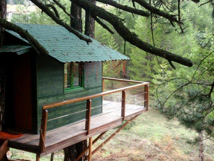 Guest House Alexiou ορεινή κορινθία δεντρόσπιτο
