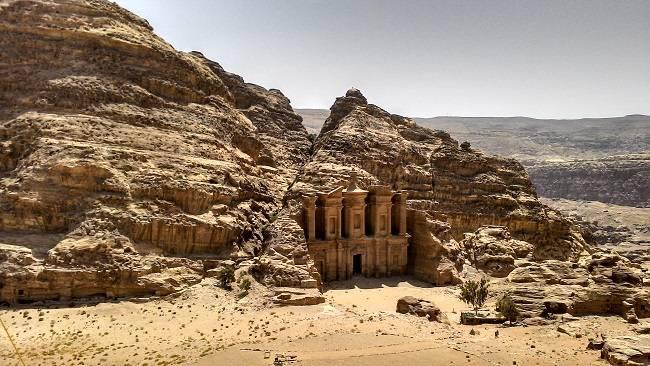 the monastery petra travel blog.