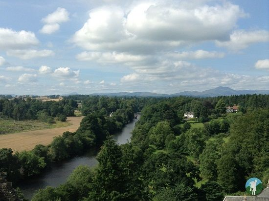 doune castle view