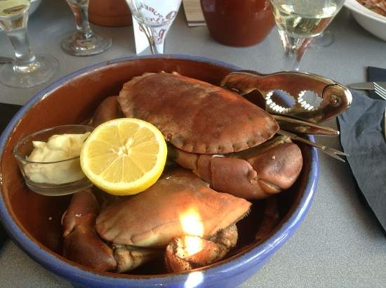 where to go in scotland for seafood.