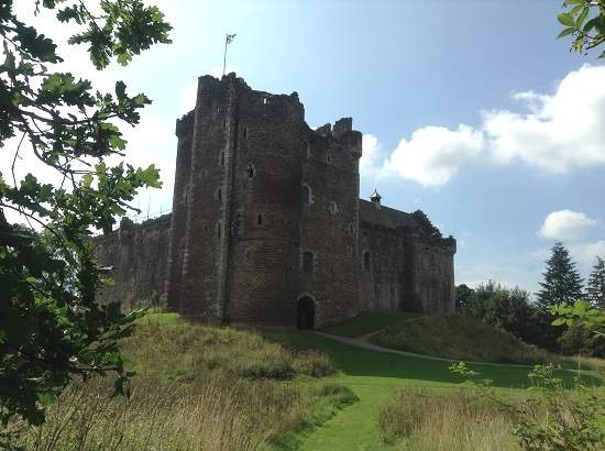 top 10 scottish castles doune.