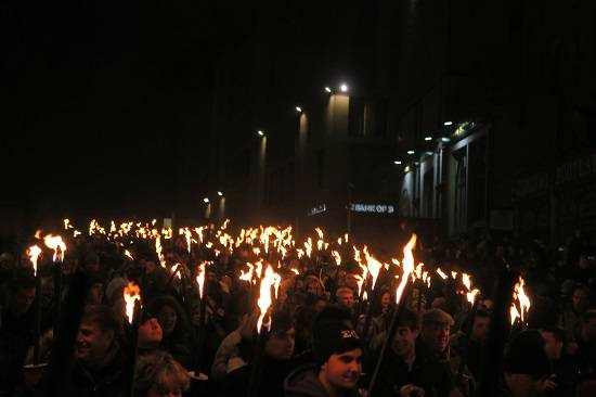 Torchlight Procession