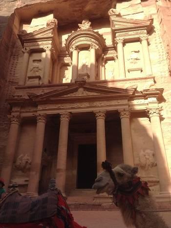 camel treasury petra travel blog.