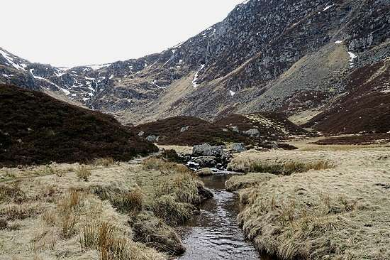 the angus glens corrie fee glen clova.