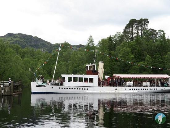 weekend in the trossachs ss sir walter scott.