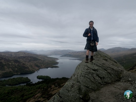 ben a'an kilt weekend in the trossachs.