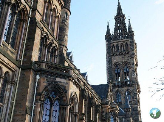 glasgow university travel blog