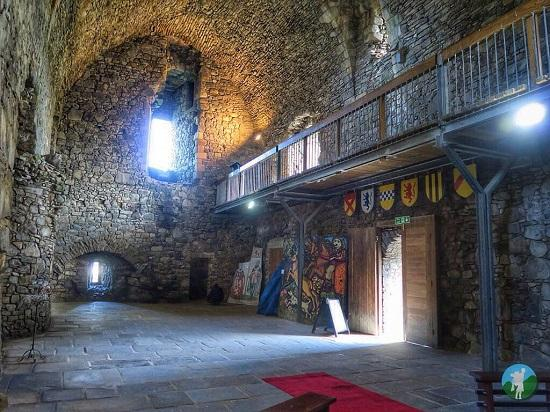 top things to do in ayrshire main hall dundonald castle.