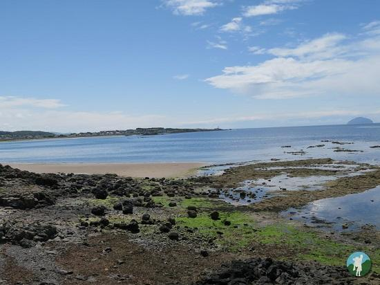 culzean beach top things to do in ayrshire.