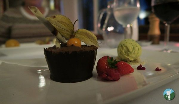 four seasons perthshire review chocolate mousse.