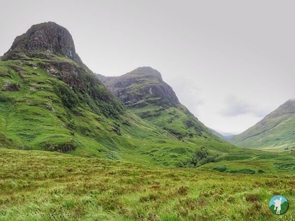 caledonian light review glen coe three sisters.