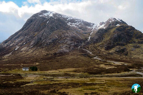 scottish highland road trips glen coe house