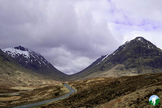 scottish highland road trip glen coe