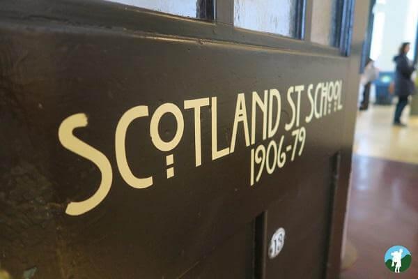 scotland street school glasgow door