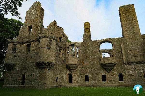 earls palace kirkwall orkney highlights