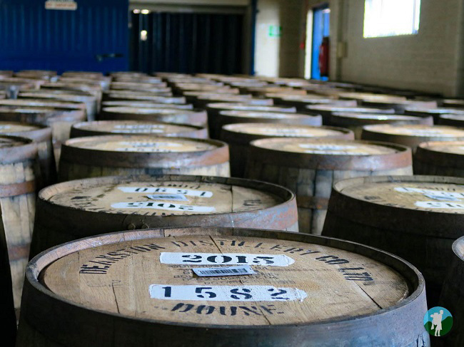 distillery barrels scotland photo blog