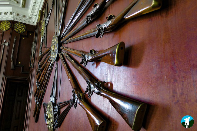 armoury blair castle best of perthshire.