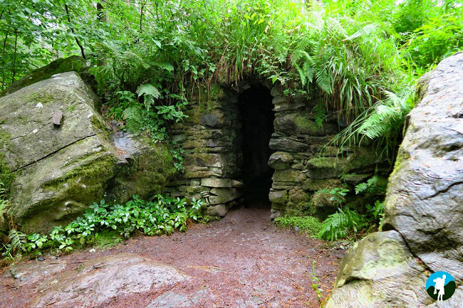 best of perthshire hermitage cave.